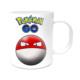 Pokemon Tasarımlı Kupa Bardak Voltorb