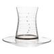Laliano Helezon Platin Çay Takımı (6 Çay Bardağı + 6 Çay Tabağı )