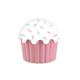 Aroni Cupe Cake Saklama Kabı - Pembe 1200 Ml