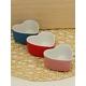 Kitchen Love Porselen 3Lü Kalpli Fırın Kabı