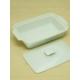 Kitchen Love Porselen, Kapaklı Dikdörtgen Fırın Kabı
