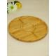 Kitchen Love Bambu 5 Bölmeli Sunum Tabağı