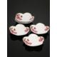 Kitchen Love Porselen 6 Adet Çay /Çerez Tabağı