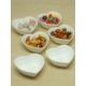 Kitchen Love Porselen 6 Lı Kalp Çerezlik