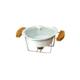 Kitchen Love Bambu Standlı Porselen Fırın Kabı