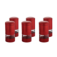 Goldmaster Pr59-1011 Perry Kırmızı 6Lı Cam Baharatlık Seti