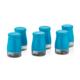 Goldmaster Pr59-1024 Perry Mavi 6Lı Cam Baharatlık Seti