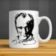 İf Dizayn Kemal Atatürk İmza Baskılı Kupa Bardak