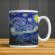 İf Dizayn Van Gogh Yıldızlı Gece Kupa Bardak