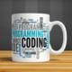 İf Dizayn Yazılımcı Coder Baskılı Kupa Bardak