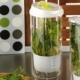 Kütahya Porselen Yeşillik Cam Saklama Kabı