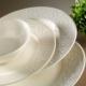 Kütahya Porselen Açelya 24 Parça Krem Yemek Seti
