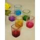Kitchen Love Cam 6Lı Renkli Shot Bardak