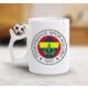 Adell Foto Fenerbahçe Kanarya Futbol Toplu Beyaz Kupa Bardak