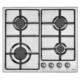 Mekappa Hxa33X-İ44Vel-6 (Lpg) Ankastre Inox Ocak (Lına)
