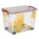 Tekerlekli Kasa No: 22 -Resimli Sarı Çiçek
