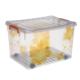 Tekerlekli Kasa No: 25 -Resimli Sarı Çiçek