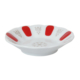 Cutechef Kitchen Porselen Yaldızsız Kırmızı Kahveci Çay Tabağı