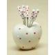 Kitchen Love Porselen-Kalp Standlı 6Lı Meyve Çatalı