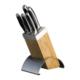 Emsan Sharp 6 Parça Bıçak Seti Siyah