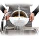 Bluezen Çok Fonksiyonlu Ayarlanabilir Plastik Süzgeç Magic Kitchen