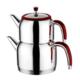 Emsan Halley Mini Çaydanlık Takımı Kırmızı