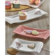 Keramika Set Kayık Selen 18-24-33 Cm 3 Parça Beyaz 004-Pembe 550 Pink Love Keramira A