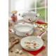 Keramika Tencere Alumınyum-Seramık 5Lı Kalp Yagmuru / 321506