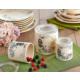 Keramika Set Saklama Kabı 10-10-12 Cm 3 Parca Krem 030 Retro A