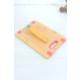 Loveq Dikdörtgen Silikon Kenarlı Bambu Kesme Tahtası
