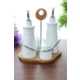 Loveq Porselen Yağlık Sirkelik Seti Thm-Hhp-3081
