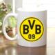 Adell Foto Borussia Dortmund Taraftar Beyaz Kupa Bardak
