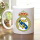 Adell Foto Real Madrid Taraftar Beyaz Kupa Bardak