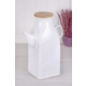 Fidex Home Porselen Sütlük-Yağlık -Kare