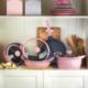 Kütahya Porselen 7 Parça Alüminyum Döküm Tencere & Tava Seti