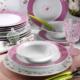 Kütahya Porselen 24 Parça 9382 Desen Yemek Seti