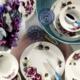 Kütahya Porselen Bone Jasmine 24 Parça 9417 Desen Yemek Seti