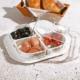 Royal Windsor Melamin 4 Bölmeli Kapaklı Kahvaltılık