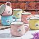 Royal Windsor Stoneware Renkli 6 Parça Kupa Seti