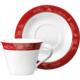 Emsan Anadolu 6'Lı Kahve Fincan Seti Kırmızı