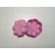d-sign home 6'lı Çiçek Mini Kek Kalıbı -Pembe