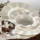Kütahya Porselen Milena 36 Parça Krem Porselen Yemek Takımı