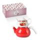 LoveQ Çaydanlık Takımı Kırmızı