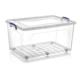 Dünya Plastik 80 lt Derin Clear Box Saklama Kutusu