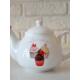 Keramika Demlık 9 Cm Beyaz 004 Pınk Cake Demlık A