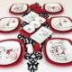 Keramika 6 Kişilik Peri Masalı Aşk Kahvaltı Takımı
