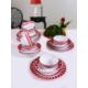 Keramika 24 Parça 6 Kişilik Alfa Renklerin Dansı 44 A Yemek Takımı