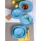 Keramika 24 Parça 6 Kişilik Kosem Turkuaz ( 423 )Yemek Takımı
