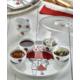 Keramika 9 Adet Hitit Kahvaltılık Red Love Keramira