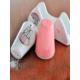 Keramika 3 Adet Set Tuzluk Biberlik Peçetelik Ada Pink Love Keramira
